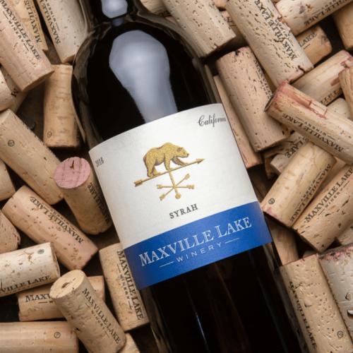 马克斯威阳光加州西拉干红葡萄酒