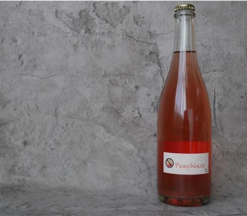 阳 小圃酿造 Peachless桃红里面没有桃 微气泡葡萄酒