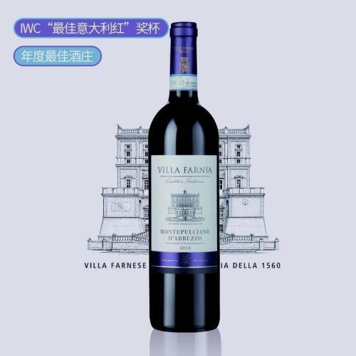 法尔雅蒙特布查诺红葡萄酒2018