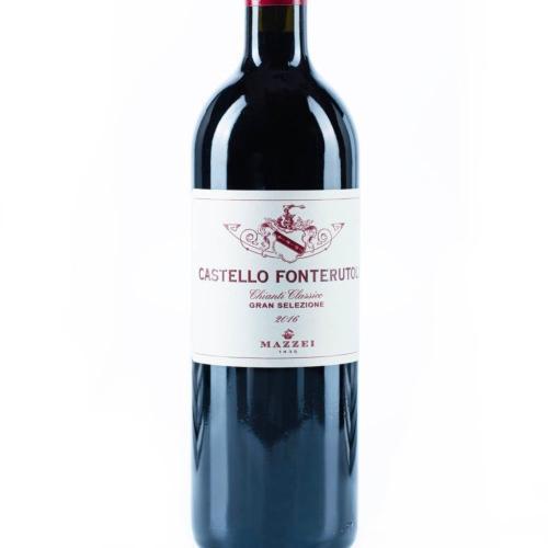 马泽世家凤都城堡奇安蒂经典红葡萄酒