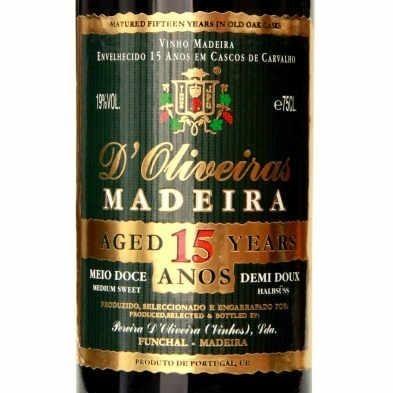 奥利维拉 15 年绿金马德拉葡萄酒