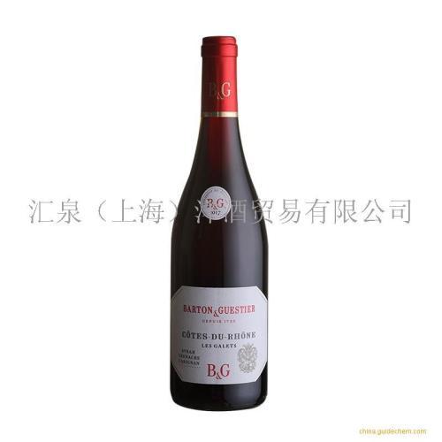 绯杰罗纳河谷红葡萄酒
