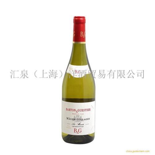 绯杰马孔村白葡萄酒