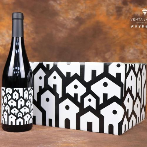 拉维加酒庄村落红葡萄酒
